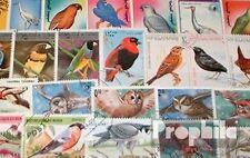 100 verschiedene Briefmarken Vögel