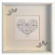 Square Contemporary Personalised Photo & Picture Frames