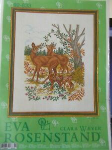 "Cross Stitch Kit "" Reindeers & Foals "" New by Eva Rosenstand"