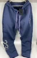 Nike Air Jordan 23 Engineered Fleece Jogger Pants CD6060-557 Purple Size L-Tall