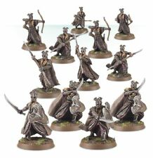 NEW Lord of the ring Warhammer Hobbit Mirkwood Armoured Elves Warband model 9/12