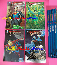 FUMETTO COMICS SUPERMAN serie 1/4 volumi 2012 MONDADORI DC COMICS no manga (M1)