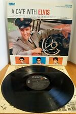 Elvis Presley -A Date With Elvis -Vinyl LP -RCA Victor LSP-2011(e) -Reissue 1977