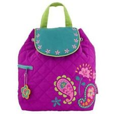 Personalized Quilted Stephen Joseph Backpack Paisley