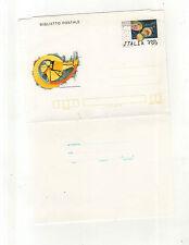biglietto postale castello  della rancia tolentino