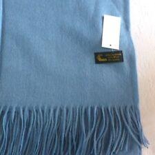 Étole cachemire bleu - châle plaid foulard écharpe 40% cachemirebelle qualité