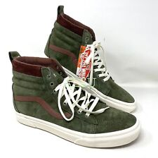VANS SK8-HI MTE Deep Green Suede Men's All Sizes Sneakers Boot VN0A4BV7V401