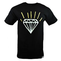 DIAMOND SUPPLY CO. Men's T-shirt -Fashion -100% Cotton  Black Small-medium NEW