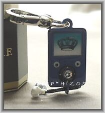 AUTHENTIC JUICY COUTURE SILVER EDITION 2011 MP3 PLAYER CHARM NIB