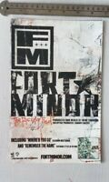 Fort Minor RARE Print Advertisement