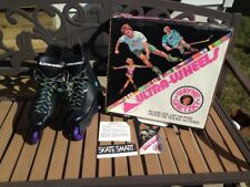 Wayne Gretzky Ultra Wheels Skate Attack Adult Inline Skates Size 9 Vtg 80s 90s