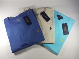 New Genuine Polo Ralph Lauren Cotton Jersey Crewneck T-Shirt 10 - 14 Years Boys