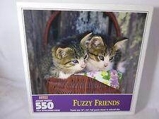 550 pièce PUZZLE Fuzzy Friends par Hoyle AVEC CHATONS CHATS NEUF scellé