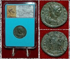 Roman Empire Coin AURELIAN Victory and Aurelian On Reverse Antoninianus