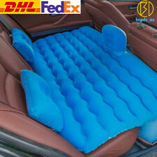 Car Air Mattress Travel Bed Flocking Inflatable Car Bed For Camping DHL/FedEx