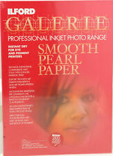 Ilford Galerie A4 290gsm Inkjet Paper - Smooth Pearl - 100 sheets