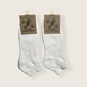 Women's Hemp and Organic Cotton Ankle Socks, Hemp Sports Socks