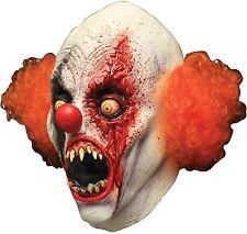 Halloween CREEPY BIRTHDAY CLOWN ADULT LATEX DELUXE MASK COSTUME NEW