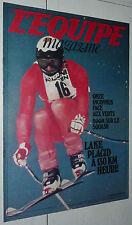 L'EQUIPE MAGAZINE N°2 1980 ST-MEDARD-EN-JALLES ASSE GILLES LAKE-PLACID SQUASH F1