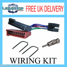 FORD FIESTA MK2 1983 to 1989 HATCHBACK STEREO WIRING FITTING ADAPTER KIT LEAD