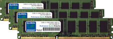 12GB (3 x 4GB) DDR3 1066MHz PC3-8500 240-PIN DIMM Memoria RAM Kit Per PC Desktop/