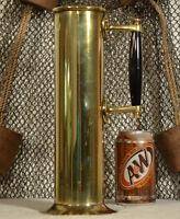 Vintage Steamship Salinometer Brass Jug