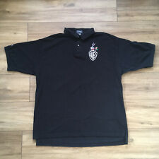Warner Brothers WB and Bugs Bunny Studio Store Crew Polo Shirt - Black - Size XL