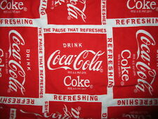 COCA COLA PAUSE THAT REFRESHES PAJAMA PANTS Coke Lounge Sleepwear Bottoms MEDIUM