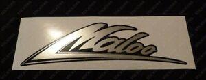 Holden HSV VG VP VR VS Maloo -Body Decal/Sticker Chrome/Black Screen Printed