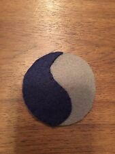 "WWI US Army patch 29th ""Blue & Gray""  Division patch AEF"