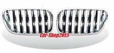 Front Kidney Chrome-Black Grille For BMW E83 LCI X3 SUV 2007-2010