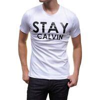 T SHIRT CALVIN KLEIN J3IJ302982 BLANC