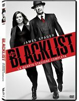 The Blacklist - Stagione 4 - Cofanetto Con 6 Dvd - Nuovo Sigillato