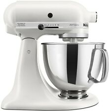 KitchenAid Stand Mixer tilt 5-Quart rrk150mr Artisan Matte Pearl White Meringue