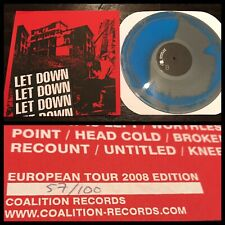 LET DOWN~Anthology LP/100~sXe HC have heart sweet jesus the first step verse