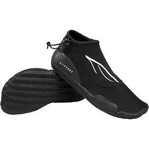 Slippery Amp Shoes Black Unisex Adult Water Boating Footwear