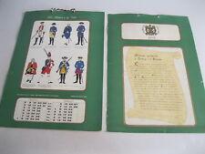ESERCITO ITALIANO calendario del 1978