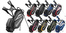 TaylorMade Select Stand Bag 2019 - BLACK/RED