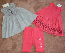 Lot of 3 First Impressions brand baby girl clothing NWY 18m