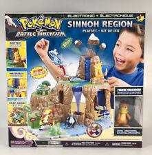 Pokemon Battle Dimension DP SINNOH REGION w/ Excl BUIZEL Figure Playset NEW
