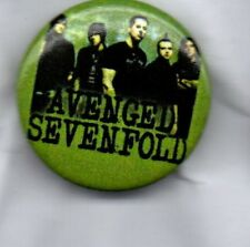 AVENGED SEVENFOLD BUTTON BADGE American Heavy Metal Band - Nightmare 25mm Pin