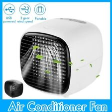 Portable Mini Air Conditioner Air Cooler Humidifier Home Room Office Desktop Fan