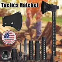 Military Camping Axe Tactical Survival Hatchet Tomahawk Hunting Hiking Tools