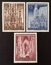 Architecture Austrian Stamps