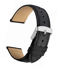 WOCCI Vintage Leder Uhrenarmband, Ersatz Armbanduhr (14mm 18mm 19mm 20mm 21mm 22