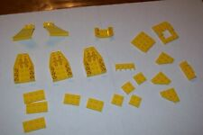 ASSORTED YELLOW LEGO 4856,2340,4871,4315,2450,3787,4213,4211