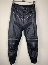 Mo-Race 100% Cow Leather Motorbike Pants Men's Size Medium-fantastic Condition