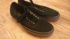 Mens Vans Shoes Skateboarding Classic Black Gum Size 10.5 Mint