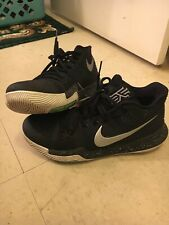 nike kyrie 3 black mens size 8 barely worn