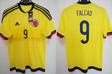 2015-2016 Colombia Colombiana Jersey Shirt Camiseta Home Adidas Falcao #9 M BNWT